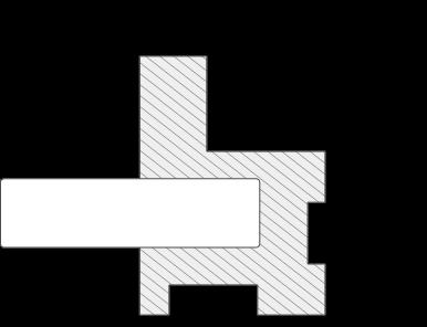 Zeichnung des Alu Schiebetür Profils Gala mit Maßangaben