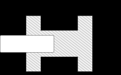 Zeichnung des Alu Schiebetür Profils Tosca mit Maßangaben