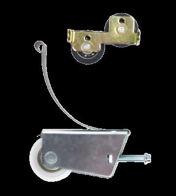 Einzelne Schiebetür Laufrolle bodengeführte Schiebetüren mit Aluminiumrahmen