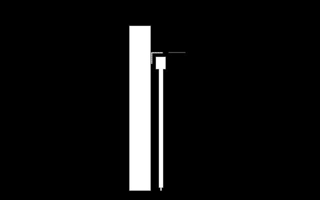 Schiebetür Winkel zur Durchgangstür Wandmontage Bodensystem Skizze