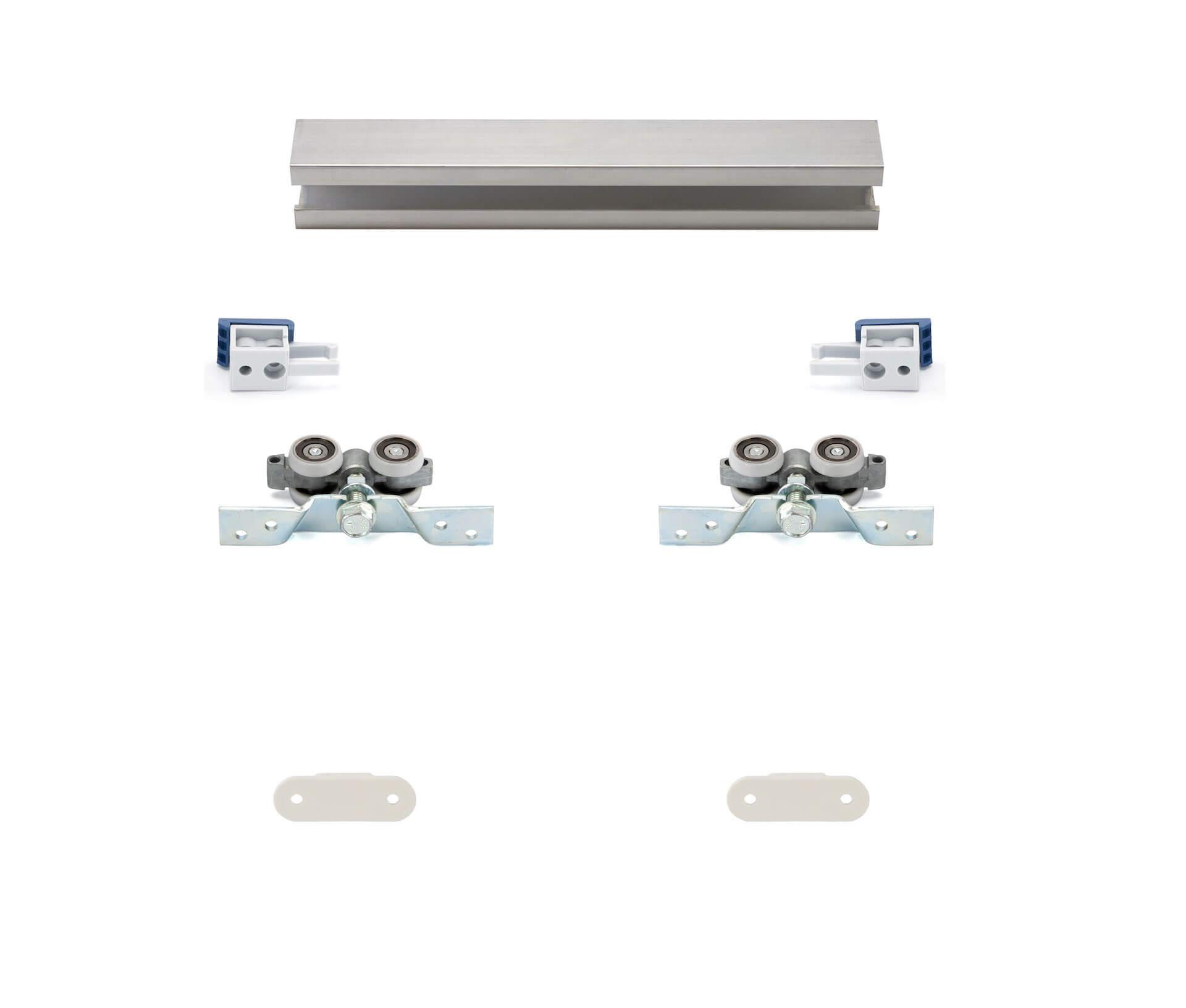 HS-Standard | Schiebetür-Bausatz Hängesystem für Durchgangs-Türen