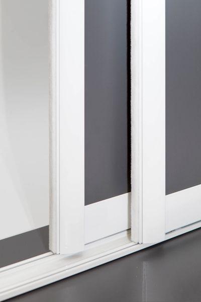 BS-Komfort mit Rahmentyp C 2000 in weiß Türen