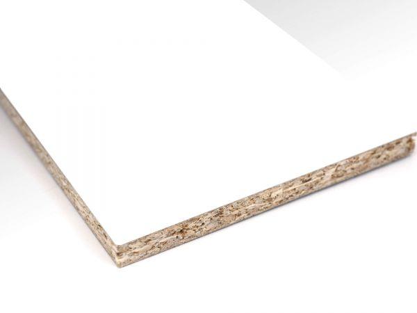Schiebetür-Füllung Dekor Weiß 19 mm