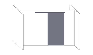 Durchgangsschiebetüren als Zimmertürersatz