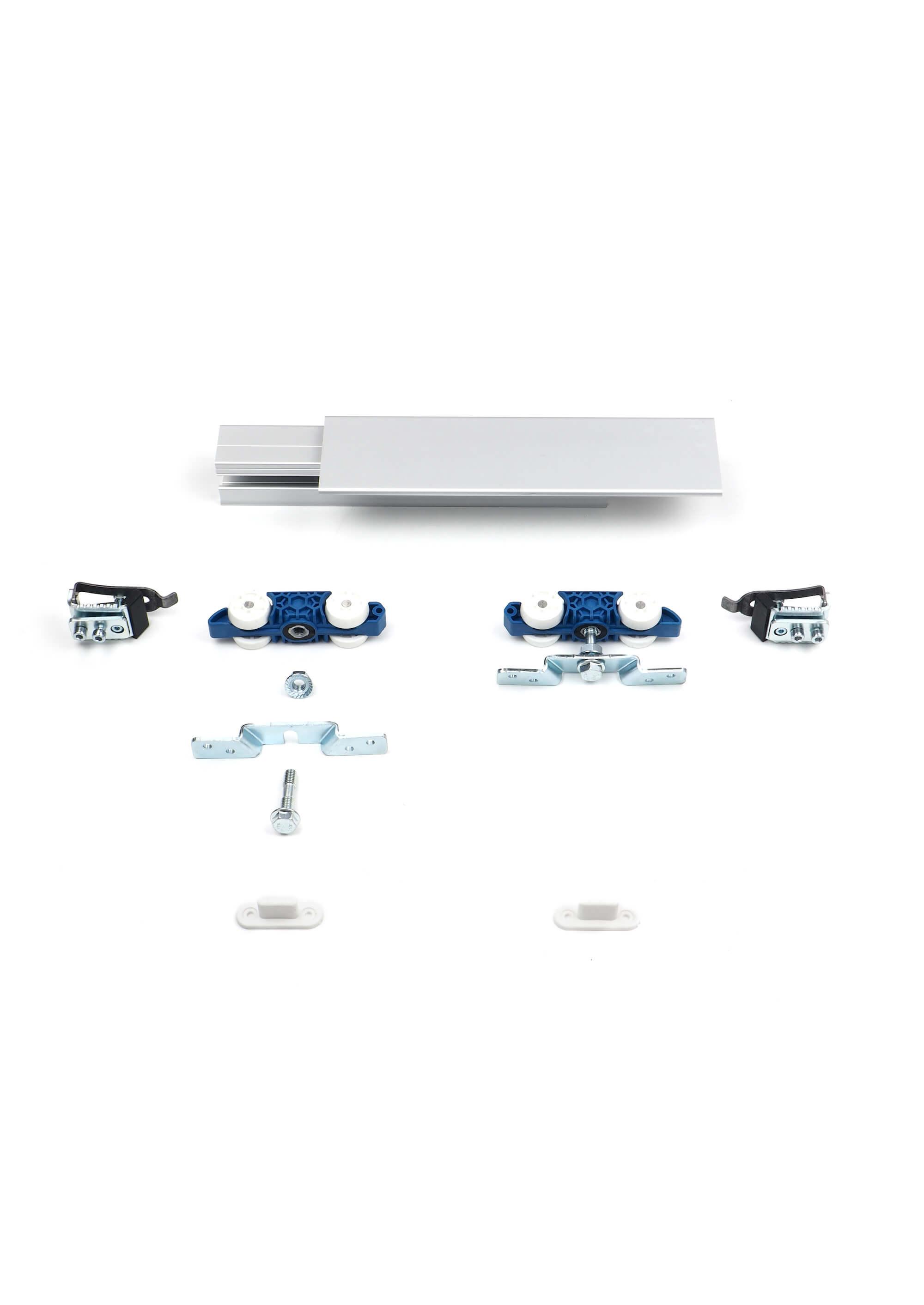 HS-Komfort | Schiebetür-Bausatz Hängesystem für Durchgangs-Türen