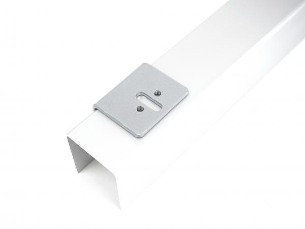 Winkel (2 Stück) für eine Wandmontage der oberen Laufschiene