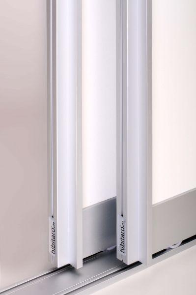 BS-Komfort mit Rahmentyp B Profile und Schienen